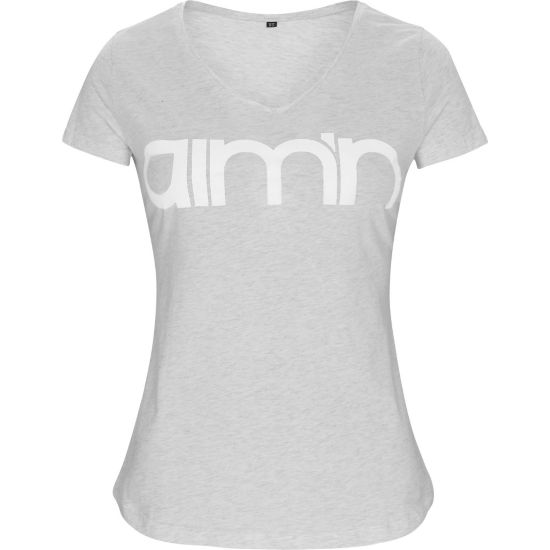 Grey Logo T-skjorte Dame
