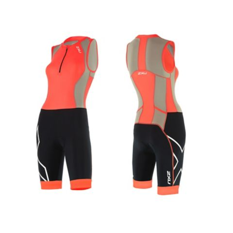 Compression trisuit dame FIERY CORAL/FRO