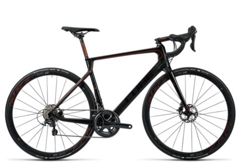 Agree C:62 Race Sykkel CARBON/FLASHRED