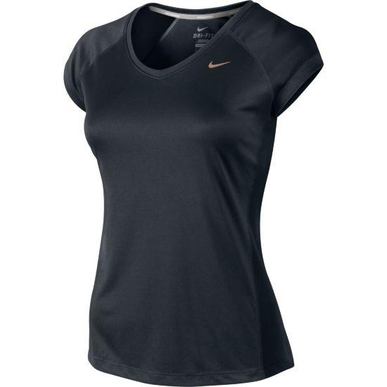 Miler V-Neck T-skjorte Dame