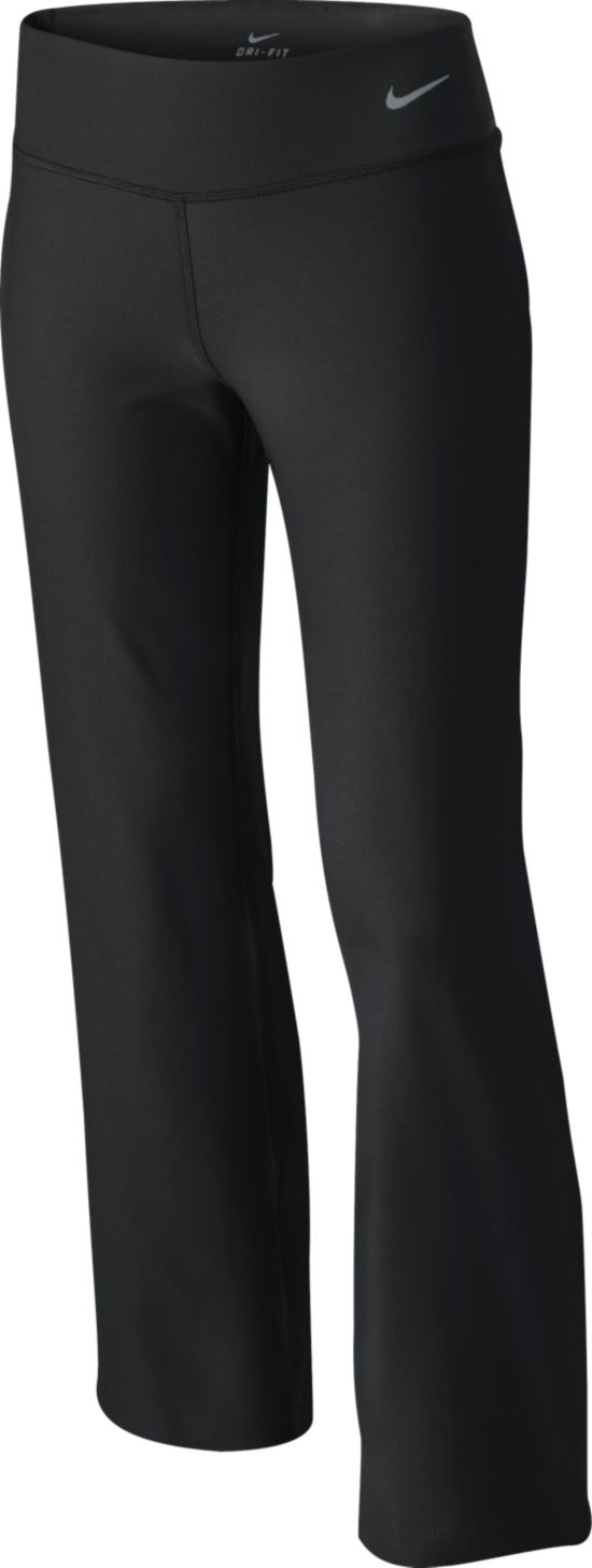 Legend Regular Poly Pant Treningsbukse Jr 010-BLACK/BLACK