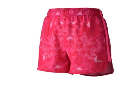 Isabel Treningsshorts Dame RED/MULTICOLOR
