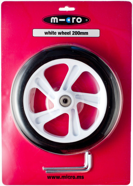 MICRO 200 mm Hjul til Micro White