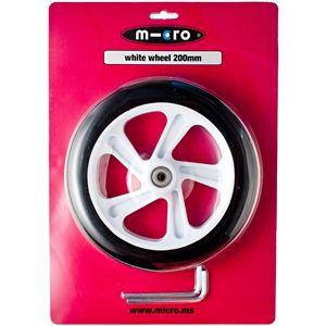 200 mm  Hjul til Micro White