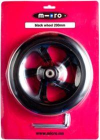 200 mm Hjul til Black Sparkesykkel