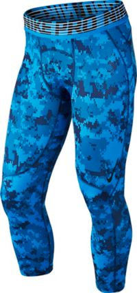 Pro Hypercool 3QT Digi Camo Tights Herre