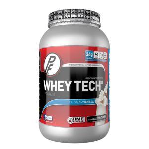 Whey Tech 1 kg Vanilje Proteinpulver