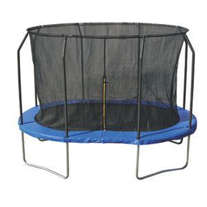 Trampoline Oval 2,44 x 3,66 m med sikkerhetsnett