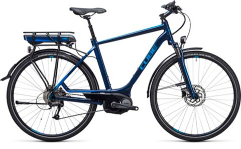 Touring Hybrid 400 El-sykkel BLUE N BLUE