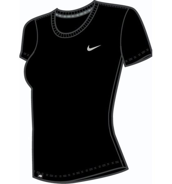 Crew Neck T-skjorte Dame