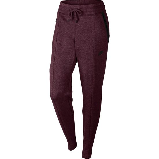 Tech Fleece Pant Knit Dame 681-NIGHT MAROO