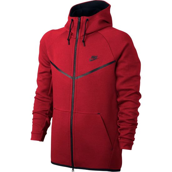 Sportswear Tech Windrunner Fleecejakke Herre 654-UNIV RED HT