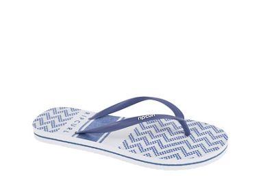 Del Sol Stripe Slippers