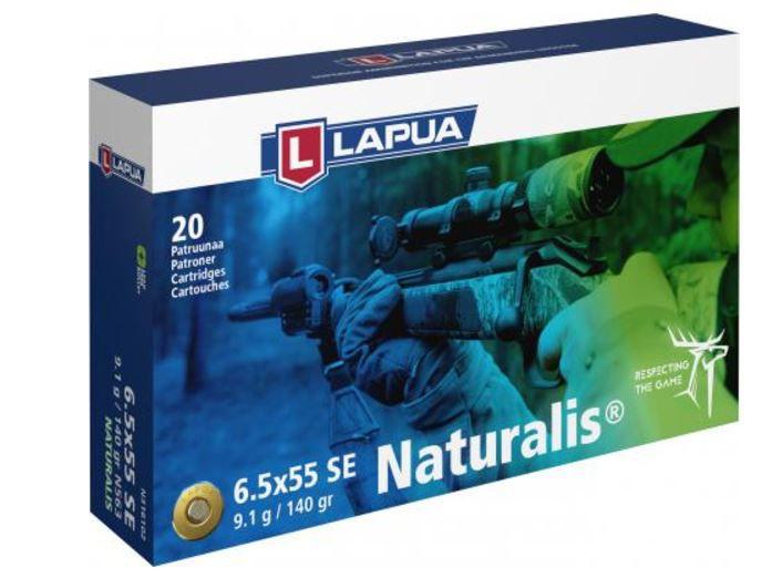 LAPUA Naturalis Riflepatron 6,5x55 9,1g