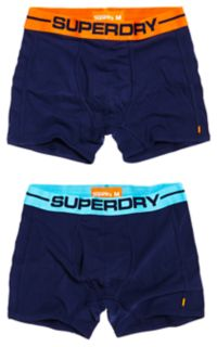 Sport Boxer Double Pack Herre