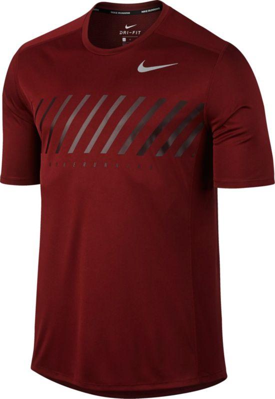 NK Dry Miler Trenings T-Skjorte Herre 010-BLACK/BLACK