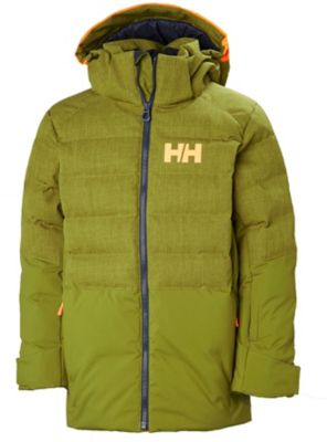 6b1855d5 Helly hansen North Down dunjakke junior 487 fir green 10 487 fir green  Unisex 10