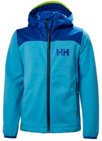 Jr Hybrid Midlayer Fleecejakke