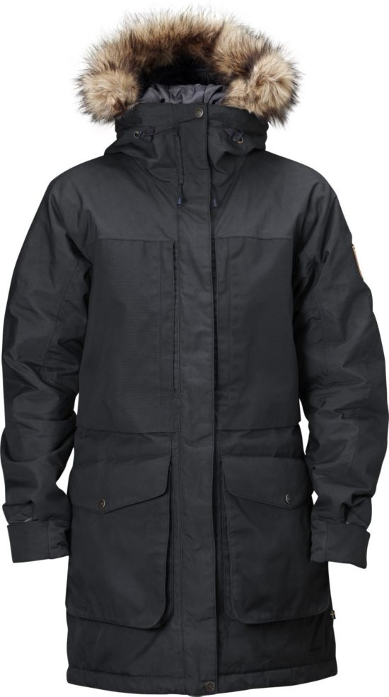 Barents Parka Dame BLACK