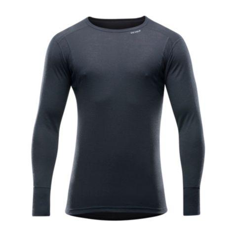 Hiking Man Shirt Ulltrøye Herre BLACK