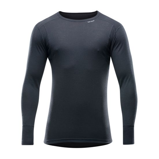 Hiking Man Shirt Ulltrøye Herre BLACK