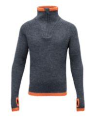 Varde JR Zip Neck Ullgenser Junior