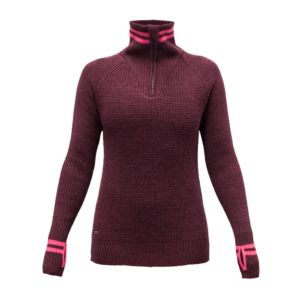 Varde Woman Zip Neck Ullgenser Dame
