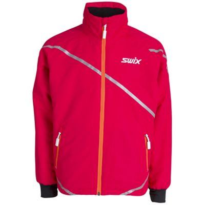 Swix Rookie langrennsjakke junior BRIGHT FUCHSIA 116/6YRS BRIGHT FUCHSIA Unisex 116/6YRS