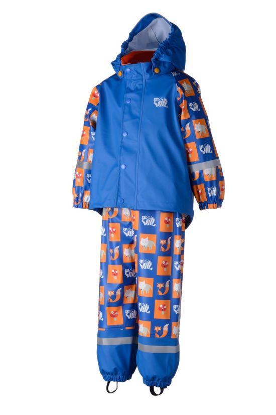 Pytt PU Regnsett Barn  IMPERIAL BLUE
