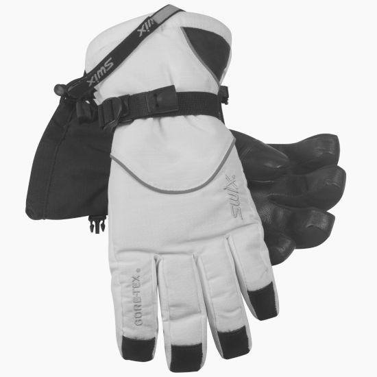 Trekker Alpinhanske Dame WHITE/BLACK