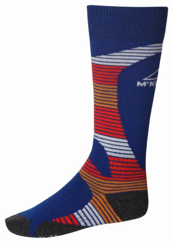 Socky Alpinsokk Jr. BLUE/RED/ORANG