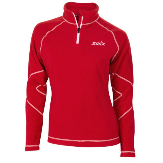Podium Fleece Polo Zip Dame
