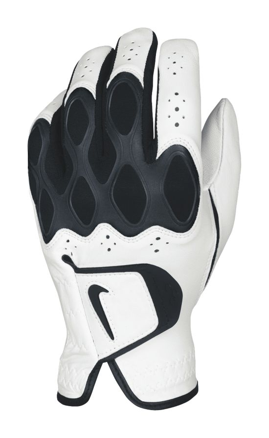 DRI-FIT TECH REG LH WHITE/BLACK-DAR