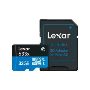 633x Micro Sdxc 32GB Uhs-i Hs Minnekort