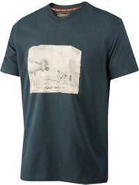 Odin Moose & Dog T-skjorte Herre