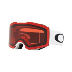Fall Line - Matte White - Prizm™ Rose goggles