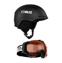 Head Cover alpinhjelm og Carver goggles