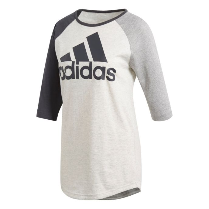 Sport ID Baseball t-skjorte dame
