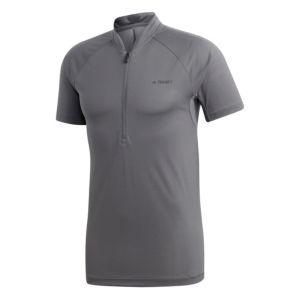 1/2 Zip Climalite t-skjorte herre