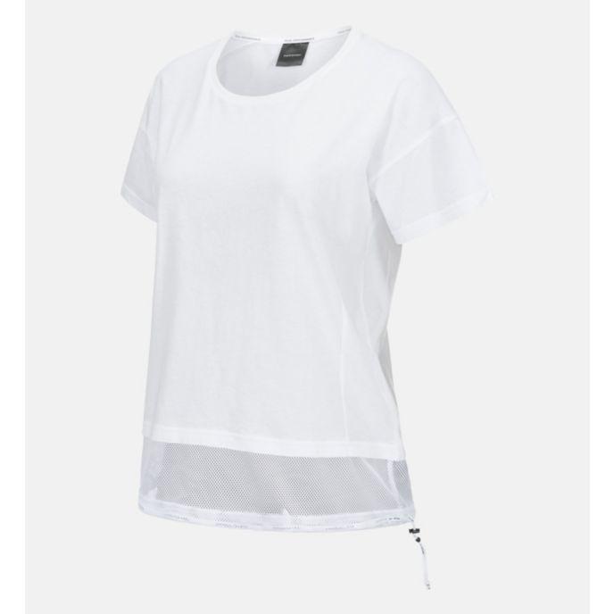 Tech Drawstring t-skjorte dame