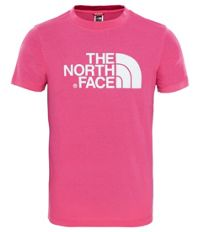 Youth S/S Easy Tee T-skjorte Junior Rosa