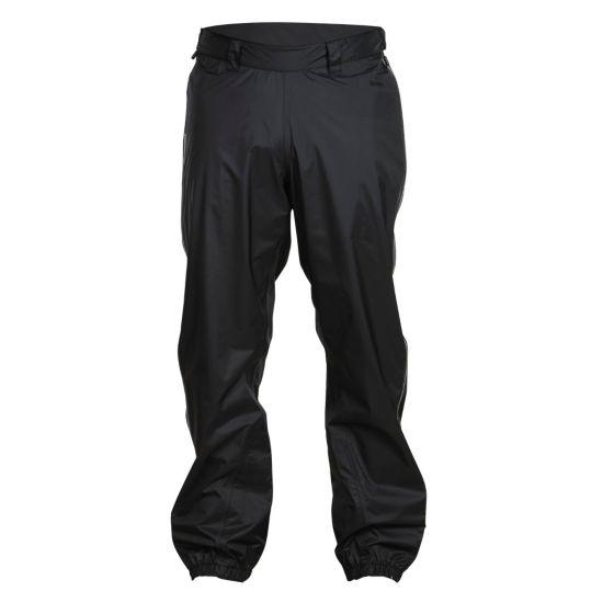 Super Lett Long Zip Bukse Herre BLACK