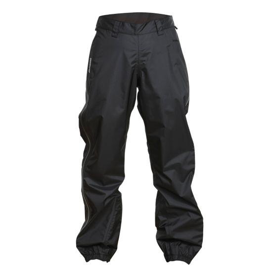 Super Lett Long Zip Bukse Dame BLACK