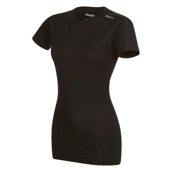 Soleie Ull T-skjorte Dame BLACK