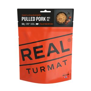 Pulled Pork med Ris 500 gram