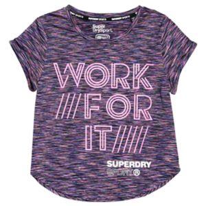 Sport Fitspiration Ombre T-skjorte Dame