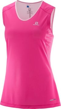 Trail Runner Sleeveless Tee W Treningssinglet Dame