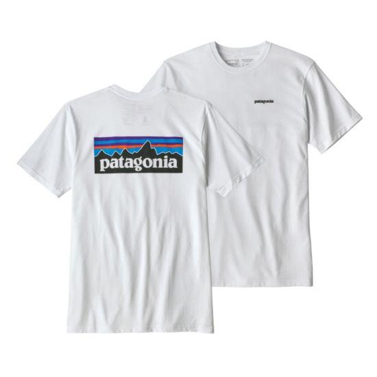 P-6 Logo Responsibility t-skjorte herre WHITE
