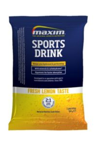 Sports Drink Lemon Sachet Energidrikk