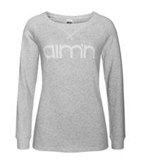 Grey Sweatshirt Genser Dame